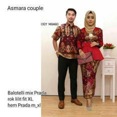 Batik Couple - Batik Sarimbit - Couple Batik - Batik Pesta Asmara