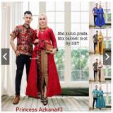 Spesifikasi Batik Couple Busana Couple Sarimbit Princes Azkana 3 Murah