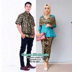TERMURAH – Baju Batik Couple - Kebaya Couple Modern - Couple Batik – Batik  Sarimbit - 02451d131e
