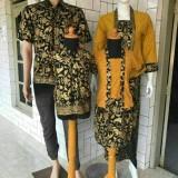 Jual Batik Couple Modern Kebaya Lilit Satu Set Keluarga Multi Ori