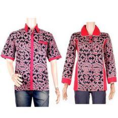 Batik Couple | Sarimbit Blus Batik Songket Harsana-Tika