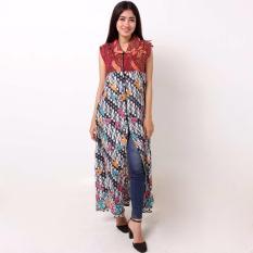 Batik Distro BA9354 Blus Wanita Cap Shanghai - CoklatIDR107000. Rp 112.000 de273434e8