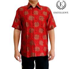 Batik Excellent Imlek - Satin Halus Merah