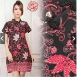 Jual Gaun Pesta Batik Silk Cheongsam Batik Imlek Baju Pesta Sincia Baju Kondangan Wanita Batik Mini Dress Katun Termurah