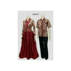 Batik Kebaya Couple / Batik Sarimbit Gamis Velvet 302
