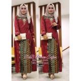 Diskon Batik Kebaya Modern Gamis Wanita Sepasang Manohara Rnb Princes Safira Jawa Timur