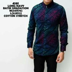 Jual Beli Batik Keren Motif Gradasi Lengan Panjang Batik Kondangan Batik Kerja Batik Pria Batik Casual