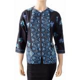 Spesifikasi Batik Nandhut Blouse Batik 1181 Hitam Yang Bagus Dan Murah