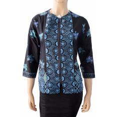 Spesifikasi Batik Nandhut Blouse Batik 1181 Hitam Terbaru