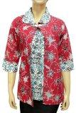 Diskon Batik Nandhut Blouse Batik 586 Merah