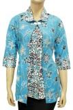 Beli Batik Nandhut Blouse Batik 587 Biru Batik Nandhut