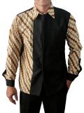 Beli Batik Nandhut Hem Ld 34 Hitam Terbaru
