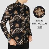 Harga Batik Pria Modern Kemeja Pria Slim Fit 9165 Termurah