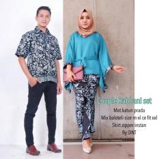 Batik Sarimbit / Sarimbit Batik / Batik Couple Rabani Toska