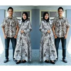 Batik Sarimbit/Couple Gamis Kashmir Exclusive