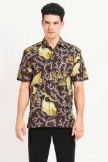 Batik Semar  Men Ethnic Wear  Pria Etnis Wear Brown Coklat Batik Diskon discount murah bazaar baju celana fashion brand branded