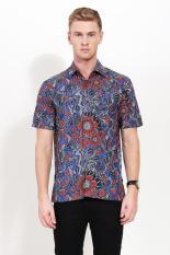 Batik Semar  Men Ethnic Wear  Pria Etnis Wear Blue Biru Batik Diskon discount murah bazaar baju celana fashion brand branded
