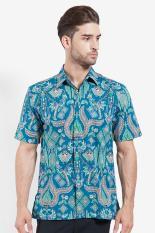 Batik Semar  Men Ethnic Wear  Pria Etnis Wear Violet Ungu Batik Diskon discount murah bazaar baju celana fashion brand branded