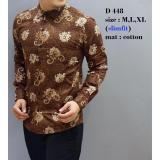 Jual Batik Slimfit Pria D 448 Multicolor Ori