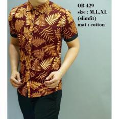 Batik Slimfit Pria OB 429 Multicolor