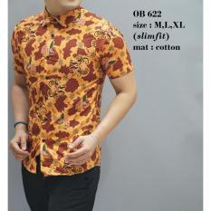 Batik Slimfit Pria OB 622 Multicolor