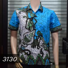Batik Sofie 3130 Kemeja Batik Motif Wayang Tosca