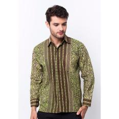 Batik Trusmi-Kemeja MM KM-Hijau