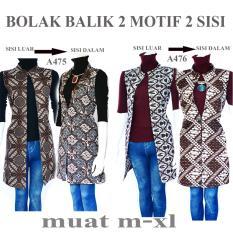Spesifikasi Batik Wanita Atasan Blouse Batik Outer Panjang A475 Dan Harganya