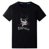 Jual Batman Pasang Laki Laki Lengan Pendek Remaja Cetak T Shirt Dilukis Dengan Tangan Batman Hitam