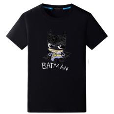 Ongkos Kirim Batman Pasang Laki Laki Lengan Pendek Remaja Cetak T Shirt Dilukis Dengan Tangan Batman Hitam Di Tiongkok