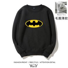 Review Batman Kaos Sweater Pria Eropa Dan Amerika Dan Lengan Panjang Bagian Tipis Bagian Tipis Hitam Tiongkok