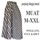 Beli Bawahan Batik Wanita Celana Kulot Batik C101 Pakai Kartu Kredit