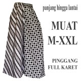 Katalog Bawahan Batik Wanita Celana Kulot Batik C101 Terbaru