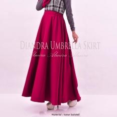 Bawahan / Rok / Kerja / Panjang / Payung / Diandra Umbrella Skirt