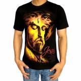 Beli Bawara Kaos Religi Rohani Jesus Premium Hitam Cicilan