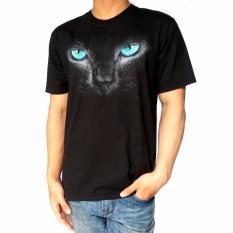 Beli Bawara Kaos Hewan Mata Kucing Hitam Secara Angsuran