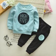 Perbandingan Harga Bayi Bayi Anak Anak Korea Anak Laki Laki Celana Panjang Celana Sweater Langit Biru Other Di Tiongkok