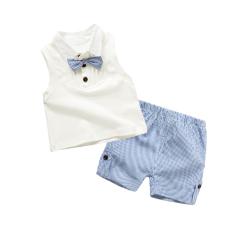 Harga Bayi Dan Anak Anak Musim Panas Tanpa Lengan Bagian Tipis Kasual Piyama Putih Susu Branded