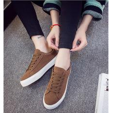 Harga Bbb Putih Sepatu Kanvas Mahasiswa Sepatu Brown Intl Baru Murah