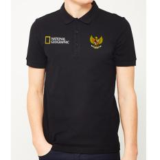 Beli Just Cloth Kaos Polo National Geographic A 017 Hitam O Fashion Dengan Harga Terjangkau