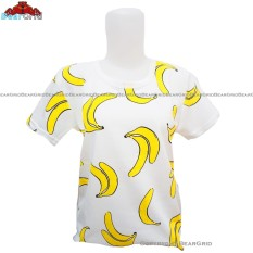 BearGrid Kaos Cewek Baby Terry Tumblr Tee / T-Shirt Banana