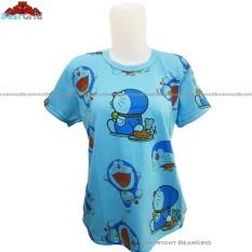 BearGrid Kaos Cewek Baby Terry Tumblr Tee / T-Shirt Doraemon