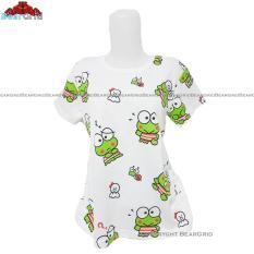 BearGrid Kaos Cewek Baby Terry Tumblr Tee / T-Shirt Keroppi