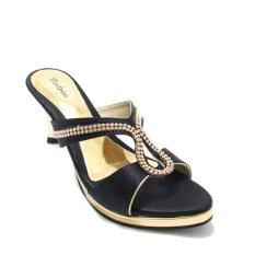 Jual Beatrice Heel Sandals 7 Cm Md 709 Black Beatrice