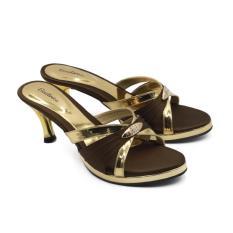 Dapatkan Segera Beatrice Heel Sandals Hak 7 Cm Md 702 Coklat 36 41