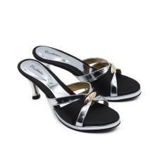 Beli Beatrice Heel Sandals Hak 7 Cm Md 702 Hitam 36 41 Online Terpercaya