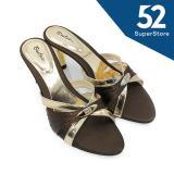 Jual Beatrice Sandal Heels Wanita M 702 Hak 7 Cm Brown Size 36 41 Beatrice Murah