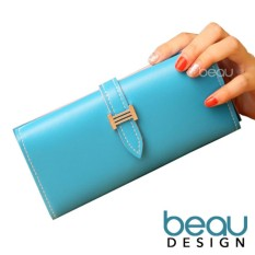 Women Long Purse WalletIDR49000. Rp 49.000. Beau Design Dompet Wanita Import  . 268848da86