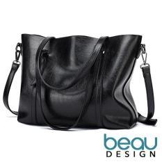 Beau Design Tas Wanita Import Batam Branded Selempang Terbaru Kulit Leather  Selempang Bahu Cantik Cewek Tote f3e7c8c475
