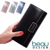 Beau Dompet Wanita Korea Forever Young Pu Leather Women Purse Wallet Beau Diskon 30